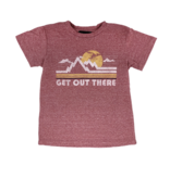 Tiny Whales Get Out There Tee