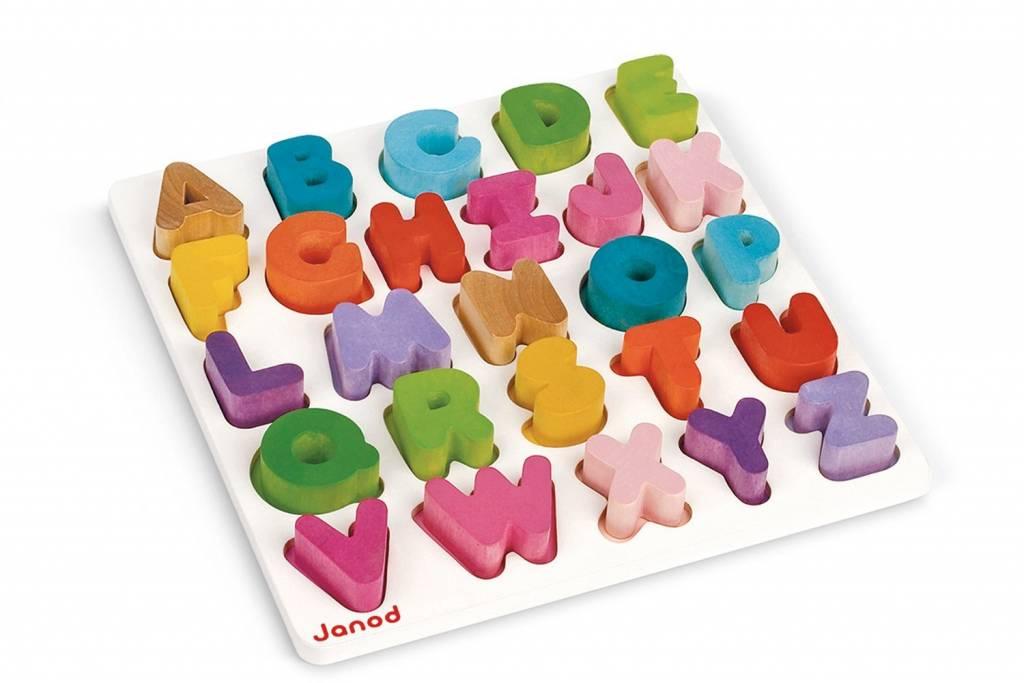 Juratoys I Wood Alphabet Puzzle