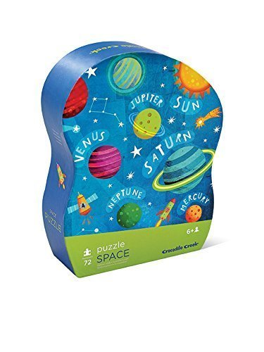 Crocodile Creek Space Puzzle 72 pc
