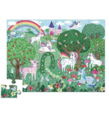 Crocodile Creek Unicorn Garden Floor Puzzle 36 pc