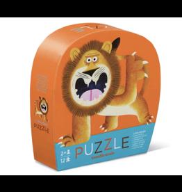 Crocodile Creek Lion Roar Mini Puzzle 12 pc