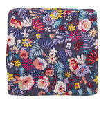 Loulou Lollipop Swaddle Blanket - Dark Field Flowers
