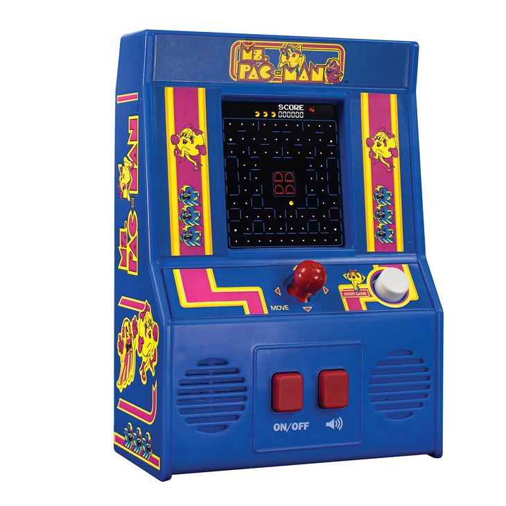 Schylling Ms Pac-Man Retro Game