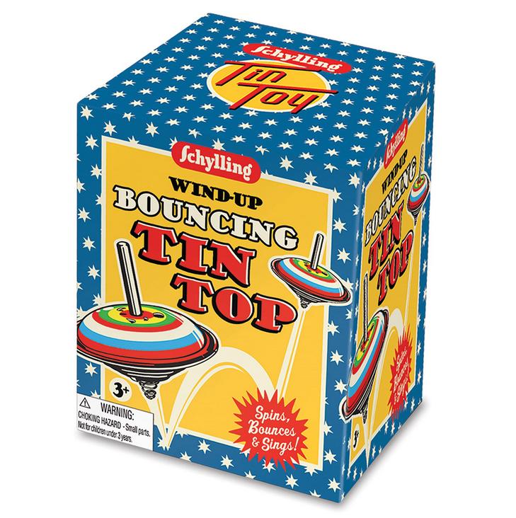 Schylling Bouncing Tin Top