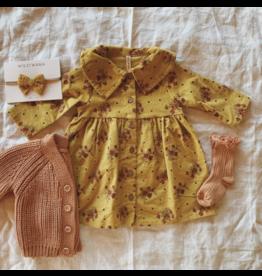 Wild & Wawa Clementine Mustard Dress