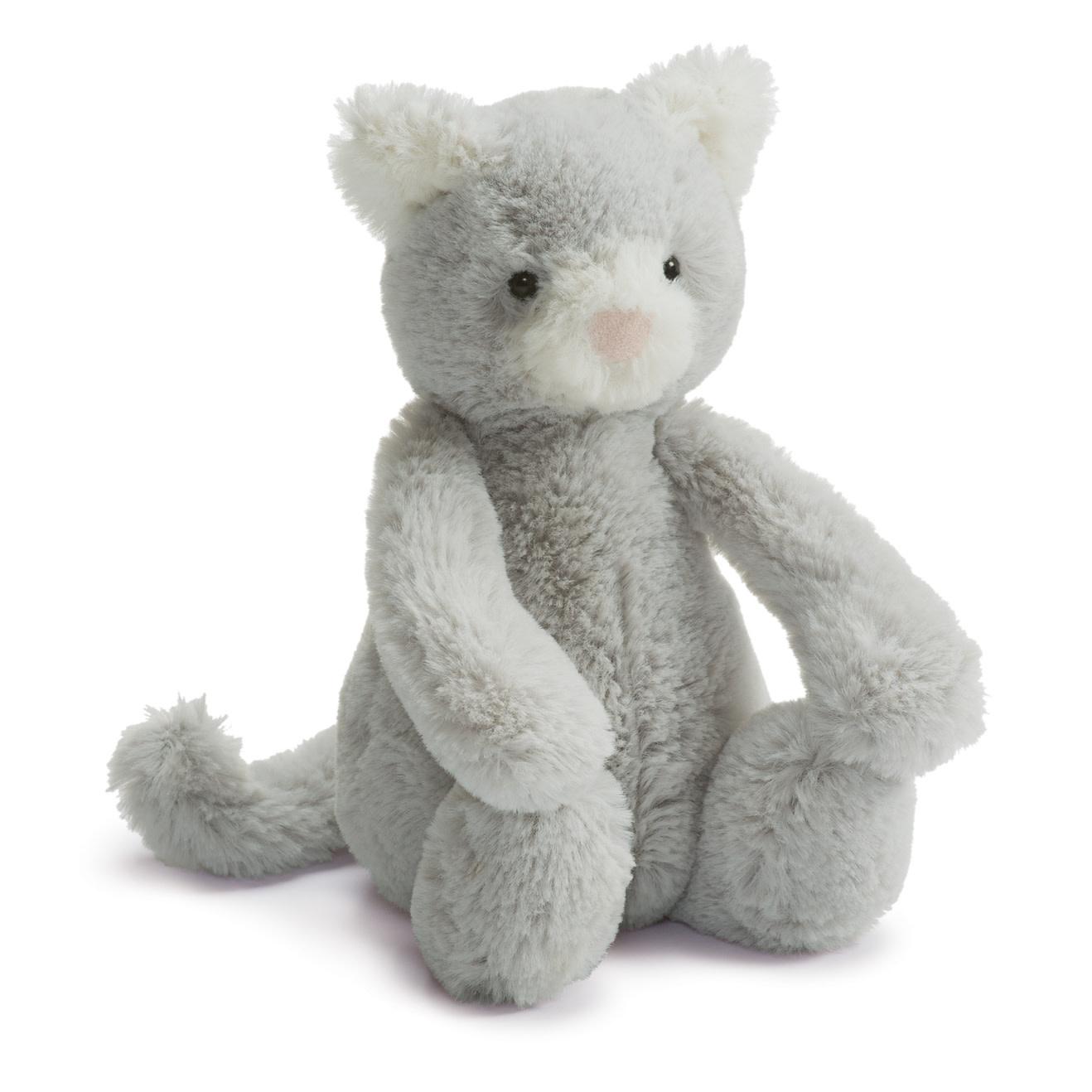 Jellycat Bashful Grey Kitty - Small