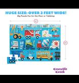 Crocodile Creek 36 pc Vehicles Puzzle