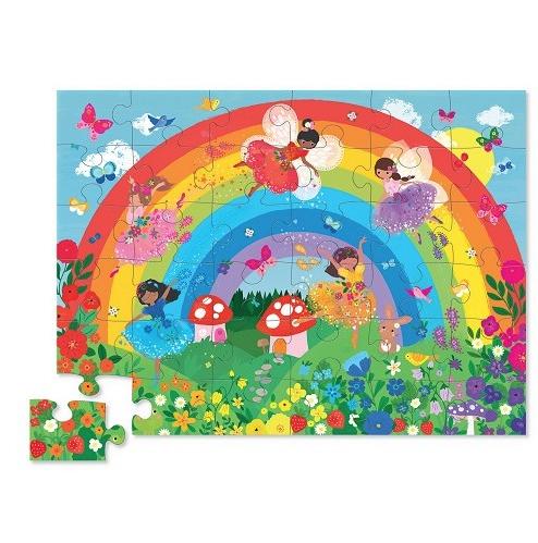 Crocodile Creek 36 pc Over the Rainbow Puzzle