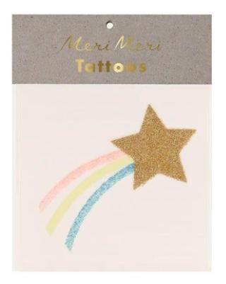 Meri Meri Star + Unicorn Small Tattoos
