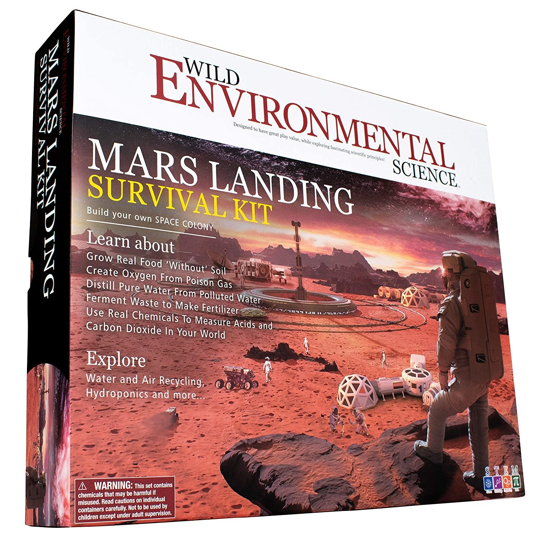 Wild Science Mars Landing Survival Kit