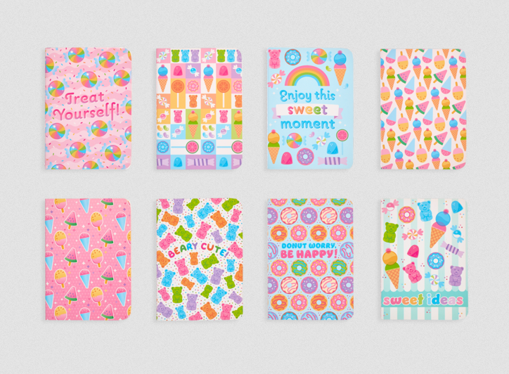 Ooly Mini Pocket Pal Journals - Sugar Joy