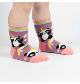 Sock It To Me Pandacorn- Toddler Crew Socks