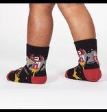 Sock It To Me Zap! Zap! Toddler Crew Socks