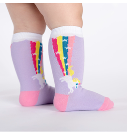 Sock It To Me Rainbow Blast- Toddler Knee Socks