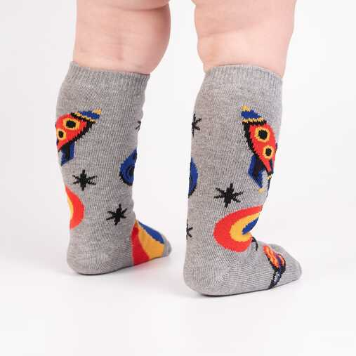 Sock It To Me A Trip To The Moon- Toddler Knee Socks