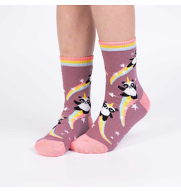 Sock It To Me Pandacorn- Youth Crew Socks