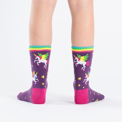 Sock It To Me Winging It- Youth Crew Socks