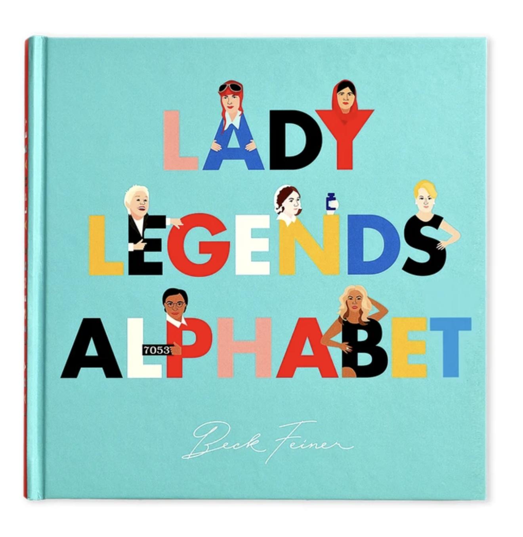 Alphabet Legends Lady Legends Alphabet Book