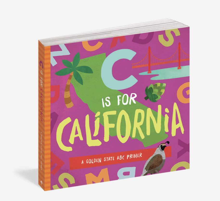 Workman Publishing C is for California
