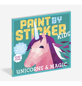 Workman Publishing Paint By Sticker Kids: Unicorns + Magic