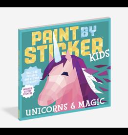 Workman Publishing Paint By Sticker Kids: Unicorns + Magic