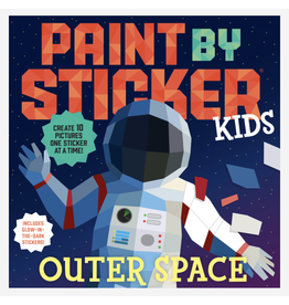 Workman Publishing Paint By Sticker Kids: Outer Space