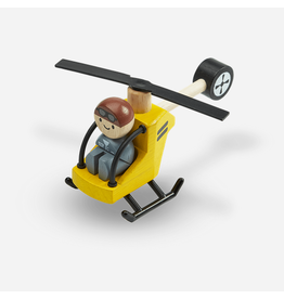 Plan Toys Helicopter w/ Pilot