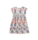 Tea Collection Empire Dress - Garden Chalk