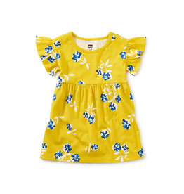 Tea Collection Baby Dress- Flower Bunches
