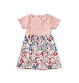 Tea Collection Print Mix Full Skirt Dress