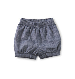 Tea Collection Bubble Baby Shorts- Indigo