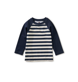 Tea Collection Long Sleeve Baby Rash Guard- Swim Stripe