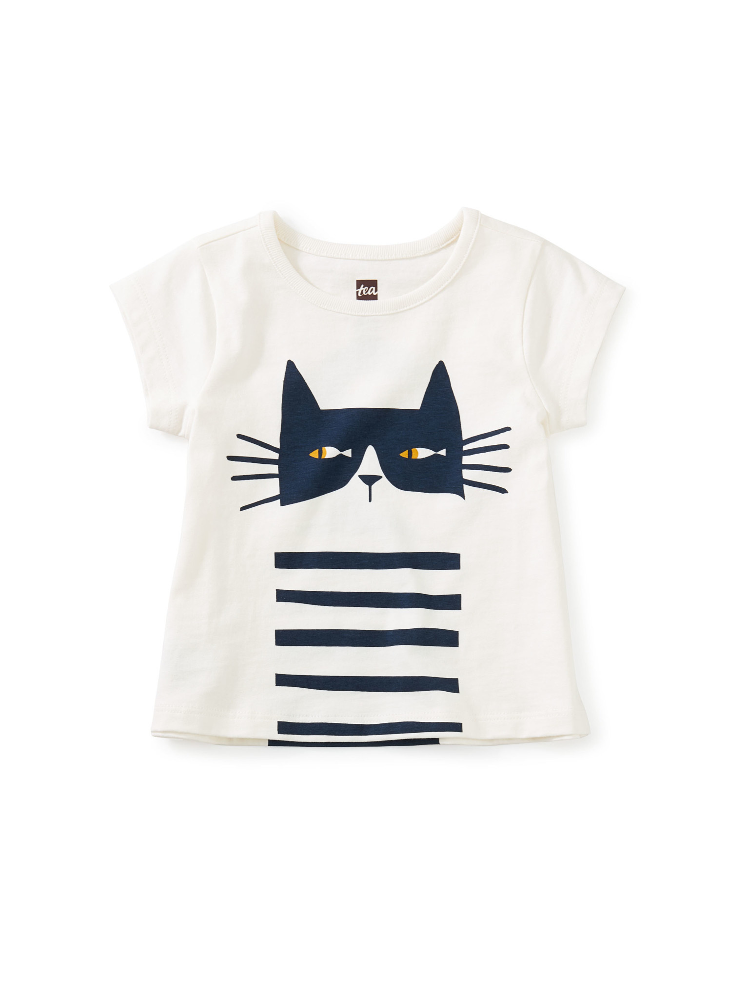 Tea Collection Cat Fish Graphic Baby Tee