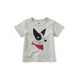 Tea Collection Porto Pup Graphic Baby Tee