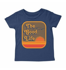 Tiny Whales The Good Life Baby Tee