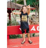 Tiny Whales Best Dude Ever Muscle Tee - Black