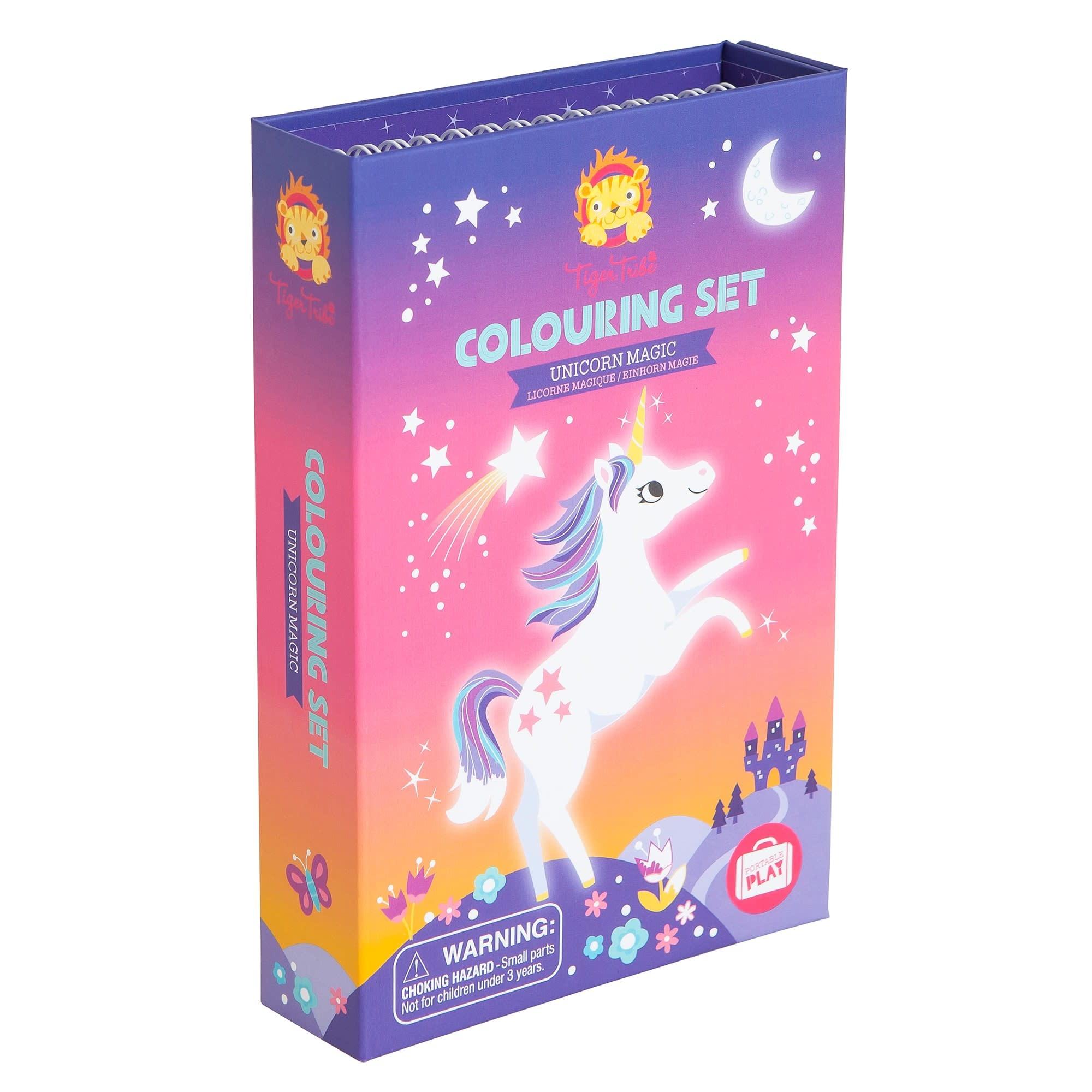 Schylling Coloring Set: Unicorn Magic