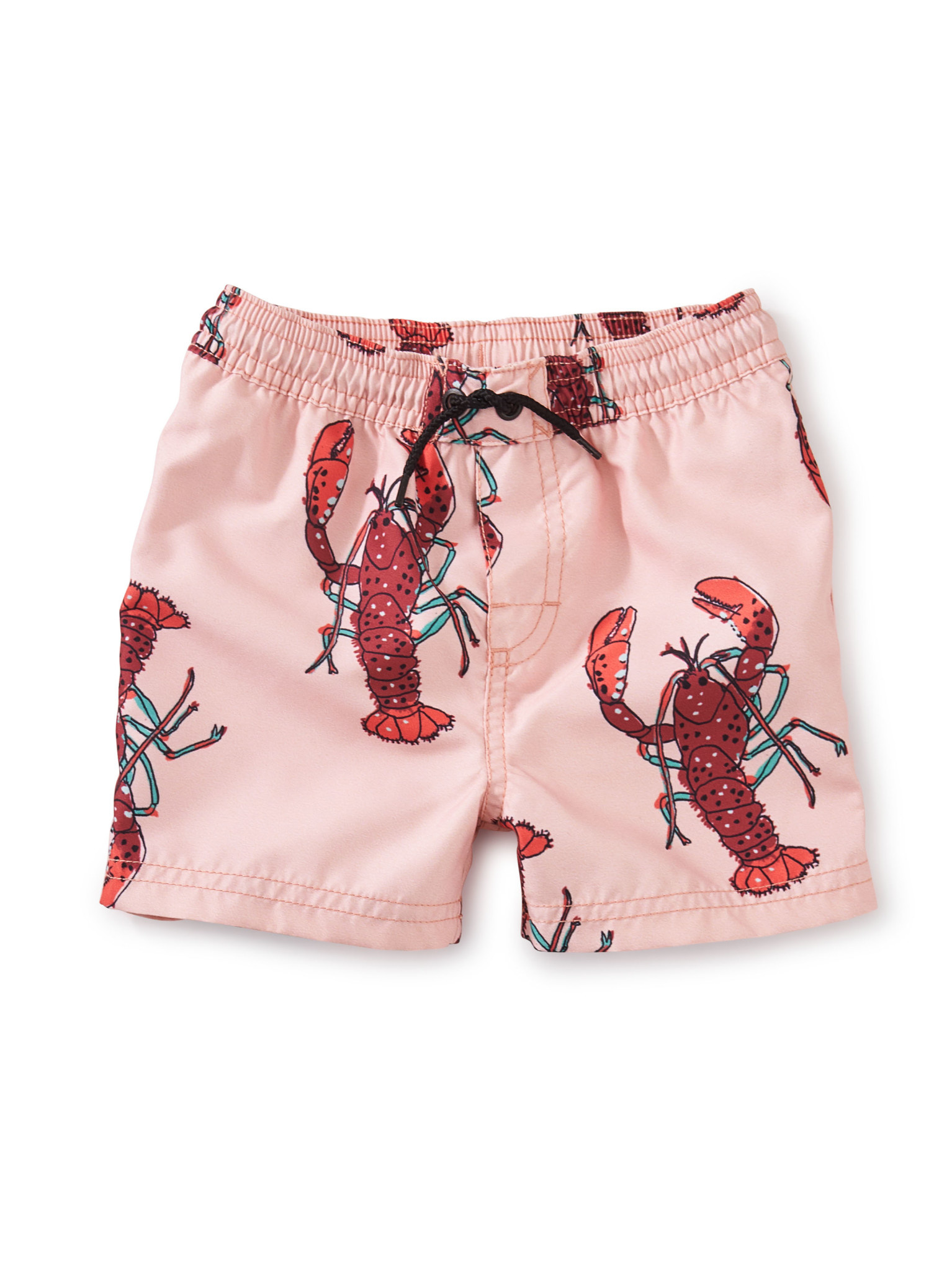 Tea Collection Saved by the Beach Baby Swim Trunk- Lobster