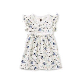 Tea Collection Wrap Neck Baby Dress