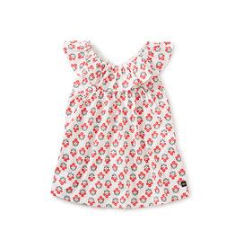 Tea Collection Ruffle Neck Baby Dress