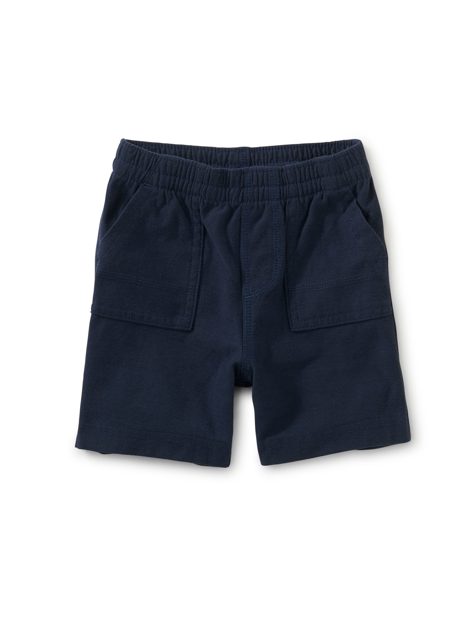 Tea Collection Playwear Baby Shorts- Whale Blue
