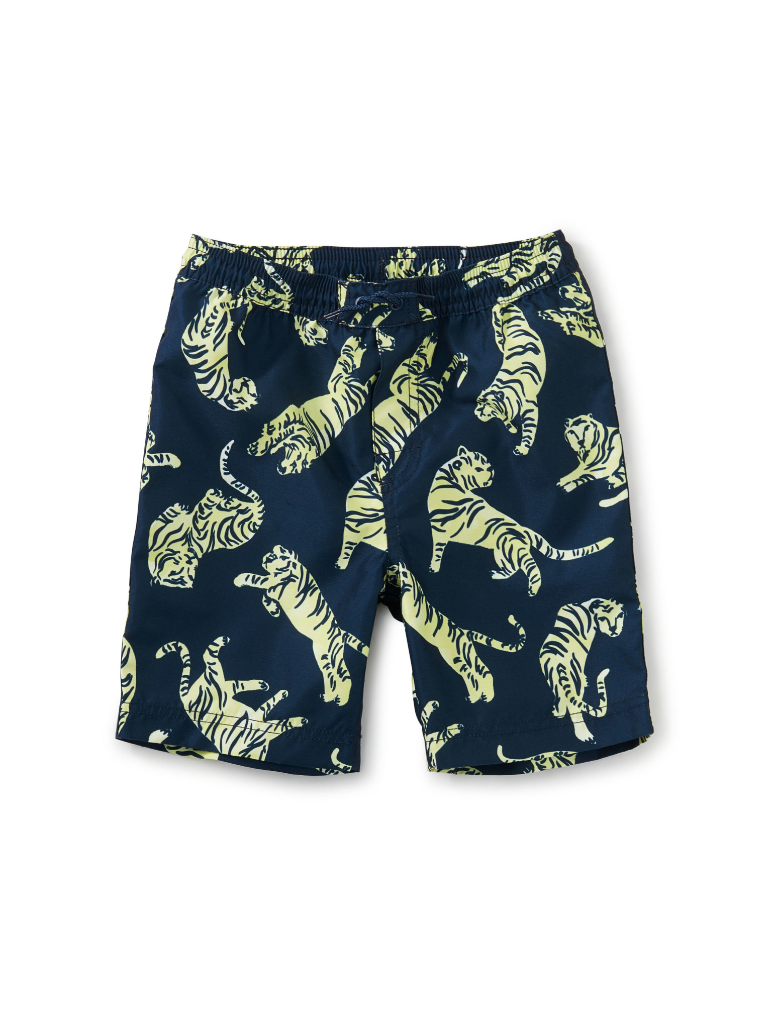 Tea Collection Full-Length Swim Trunk- Tossed Tigers