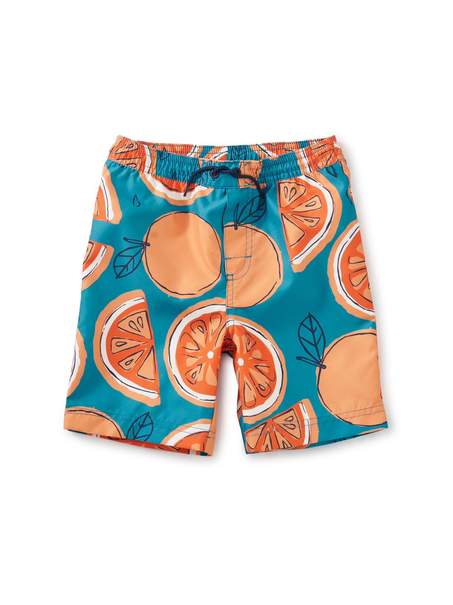 Tea Collection Swim Trunks - Fresh Oranges
