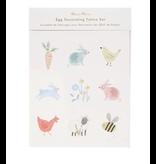 Meri Meri Spring Bunny Egg Decorating Tattoo Kit