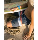 Feather 4 Arrow Vintage Stripe Boardshort - Washed Black