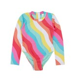 Feather 4 Arrow Wave Chaser Surf Suit - Tropical