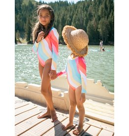 Feather 4 Arrow Wave Chaser Swimsuit