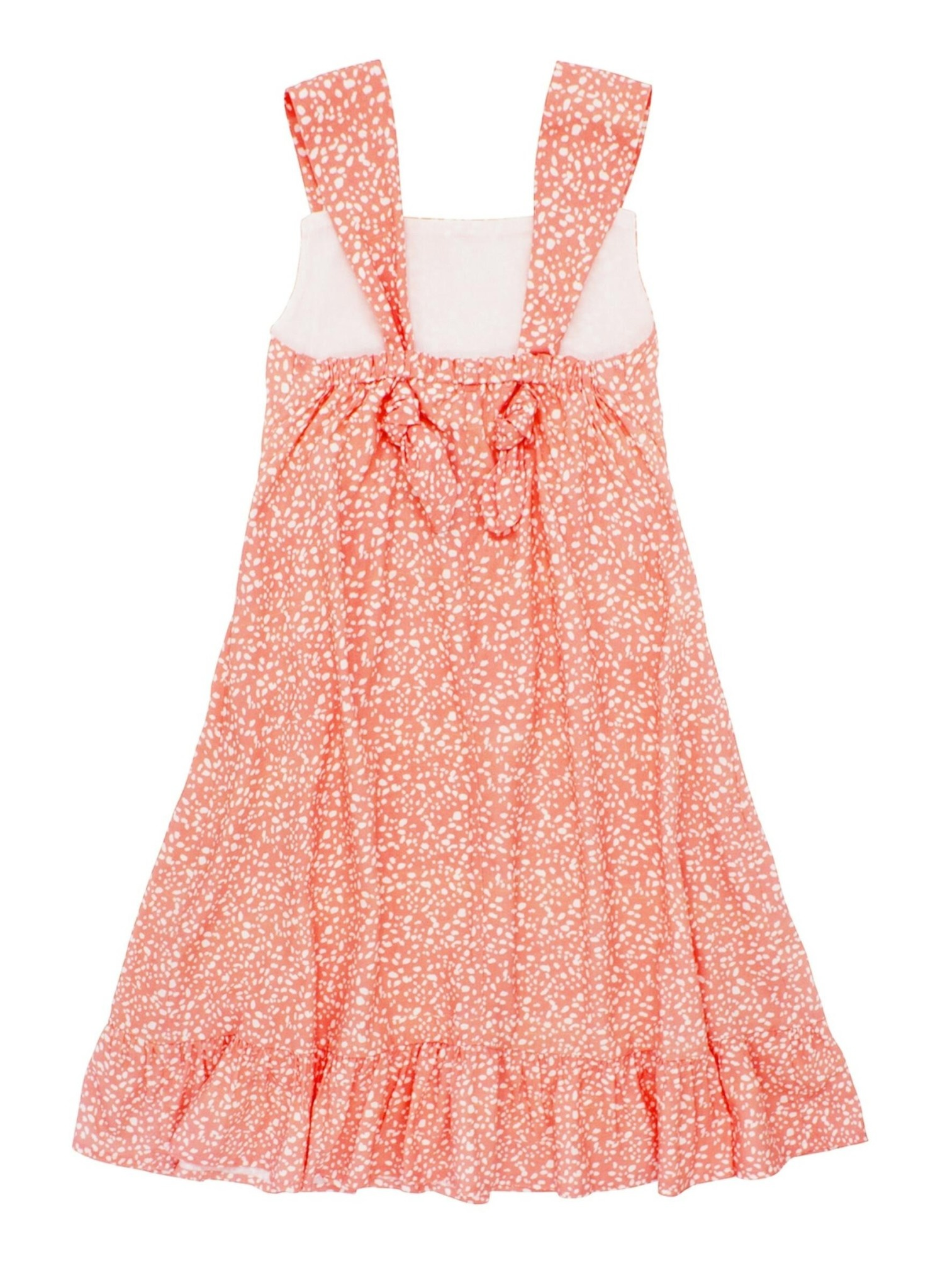 Feather 4 Arrow Sunset Vibes Dress- Coral Crush