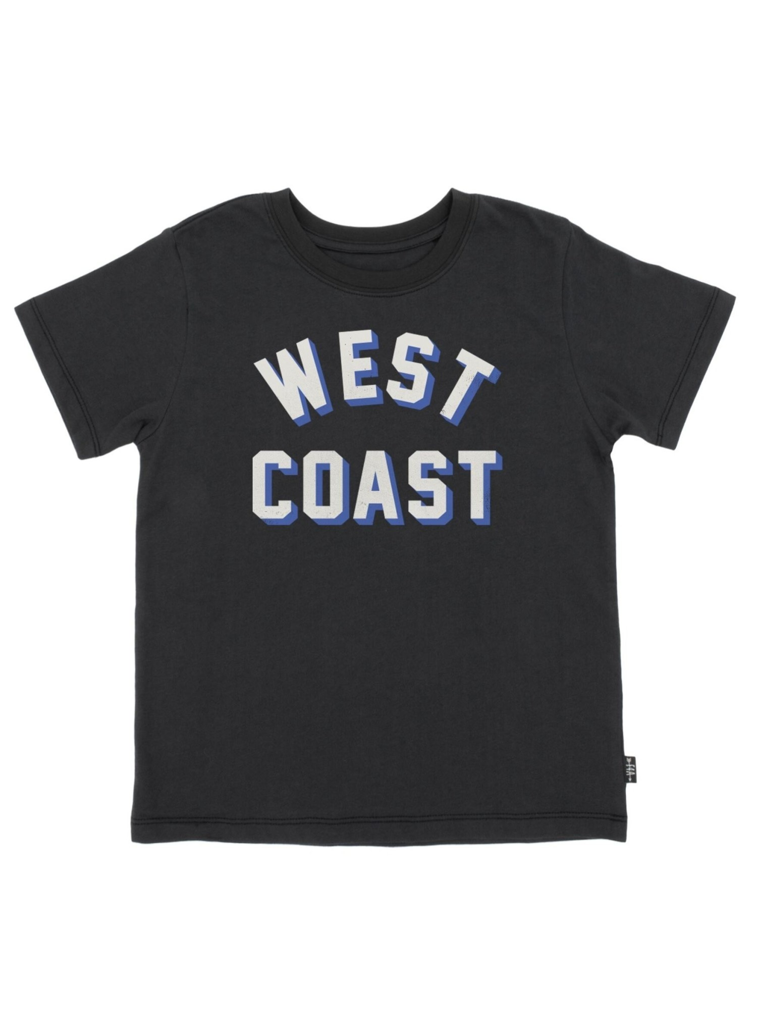 Feather 4 Arrow West Coast Vintage Tee- Washed Black
