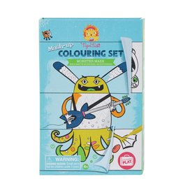 Schylling Coloring Set: Monster Mash